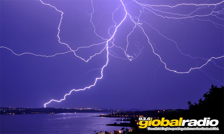 Storm Warning Costa Del Sol