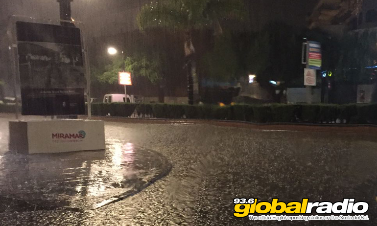 Power Cuts And Flooding Caused By Storms