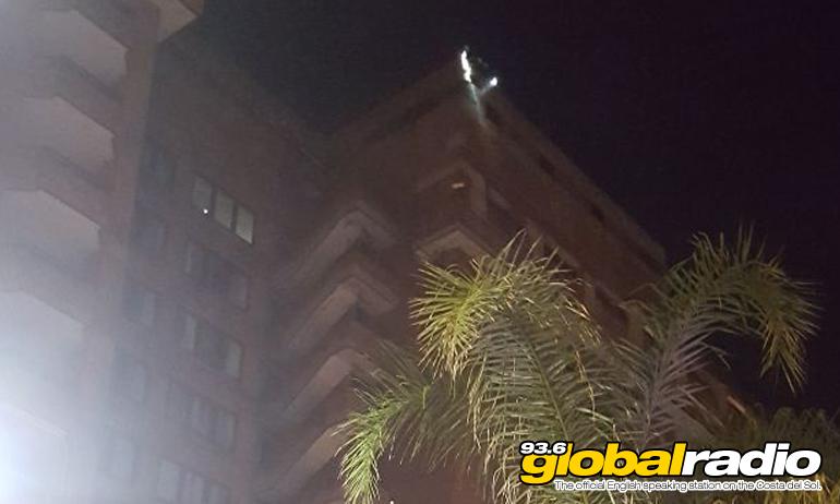 Fuengirola Hotel Hit By Lightning
