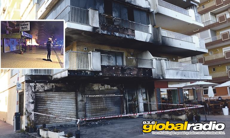 Fuengirola Restaurant Goes Up In Flames