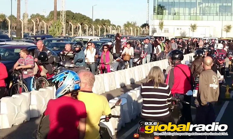 Delays At Gibraltar Border