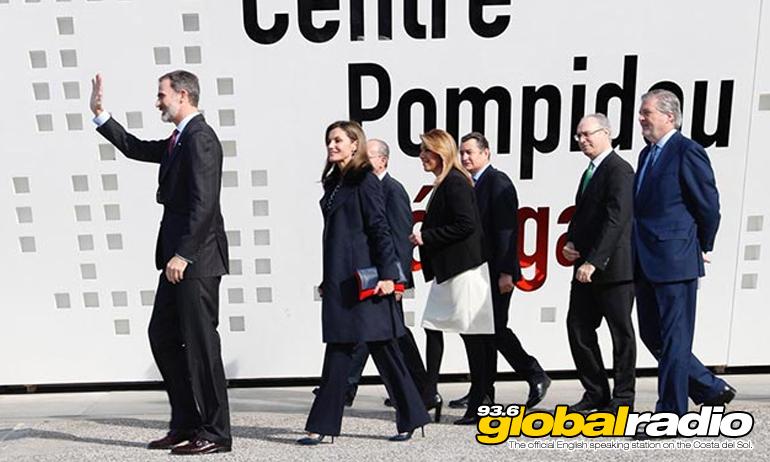 Royals Visit Malaga