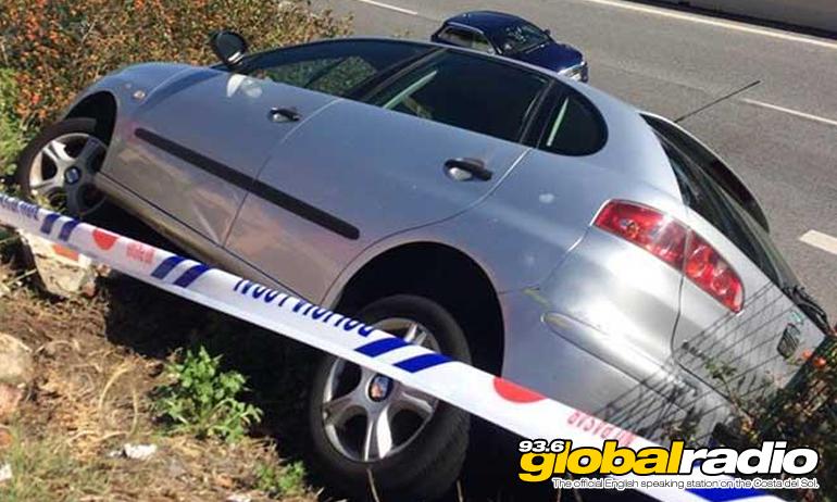 Driver Has Lucky Escape In Calahonda