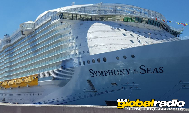 Malaga Welcomes Biggest Cruise Ship In The World