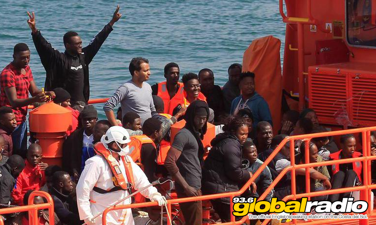 388 Migrants Rescued From Sea In Southern Spain