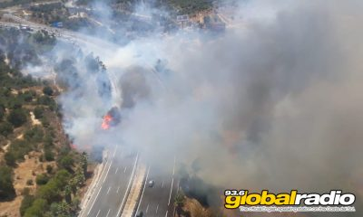 Huge Fire Erupts Near Torremolinos