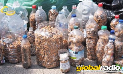 22000 Cigarette Butts Cleaned From Costa Del Sol Beach
