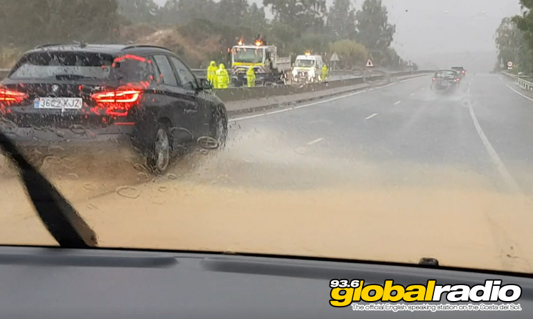 Floods Cause Extensive Damage on The Costa Del Sol