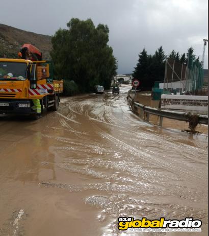 Malaga Province Flood