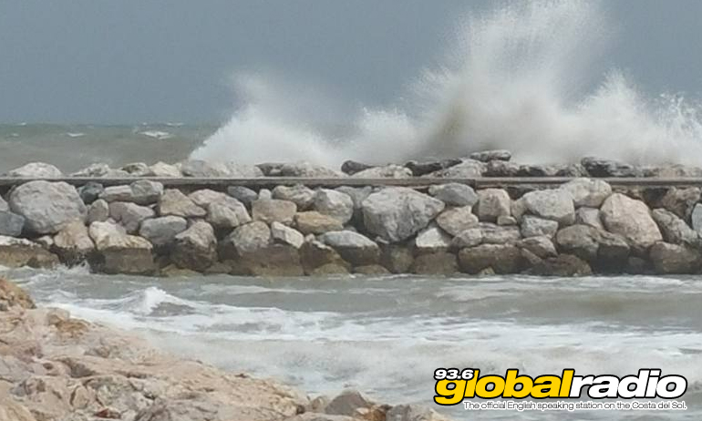 Storm Laura Hits The Costa Del Sol.