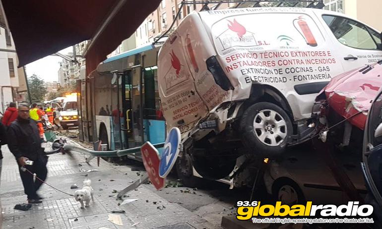 Malaga Bus Crash
