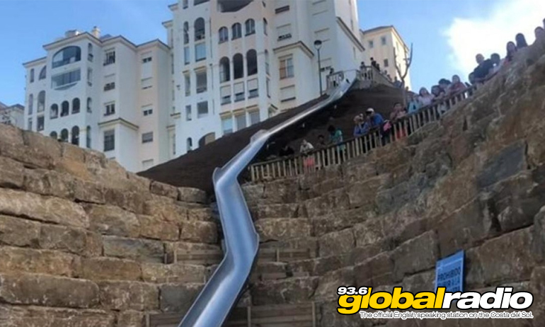 Estepona Slide Closed After One Day