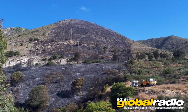 El Higueron Fire
