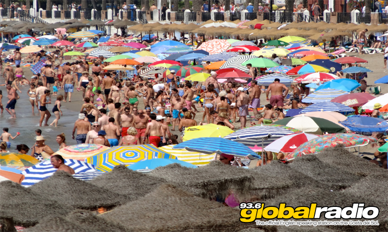Beach Marbella Busy