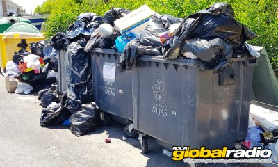 Bin Men Back At Work In Mijas