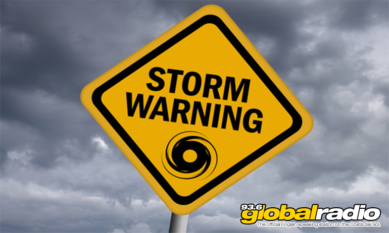 Costa Del Sol Storm Warning