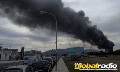 Firefighter Injured In Blaze Near Malaga Airport