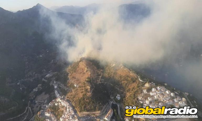 Huge Costa Del Sol Fire Extinguished