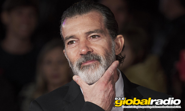 Antonio Banderas Switching On Malaga Lights