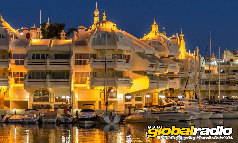 Benalmadena Marina Night
