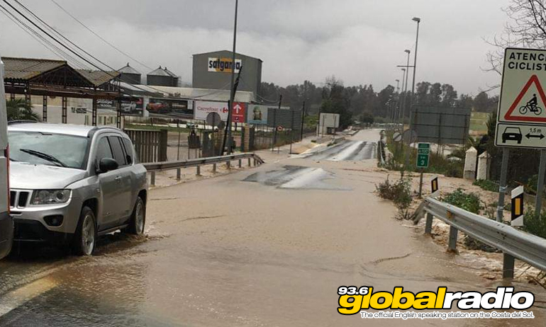 Flood Cartama Jan 2020