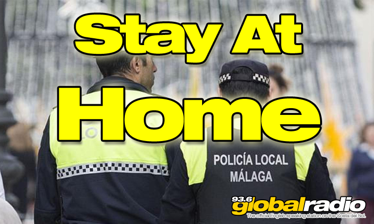 Police Warn Citizens To Stay At Home
