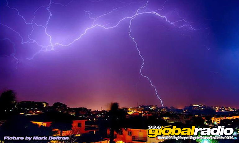 Storms Set To Batter The Costa Del Sol