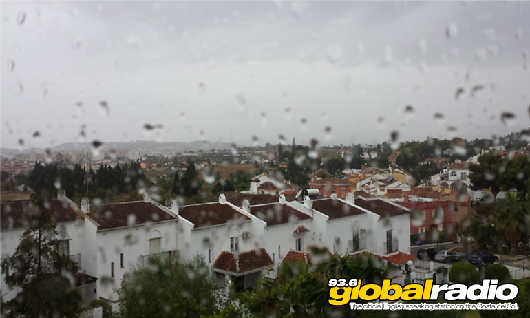 Heavy Rain Warning For The Costa Del Sol