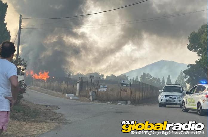 Fire Valle Del Sol