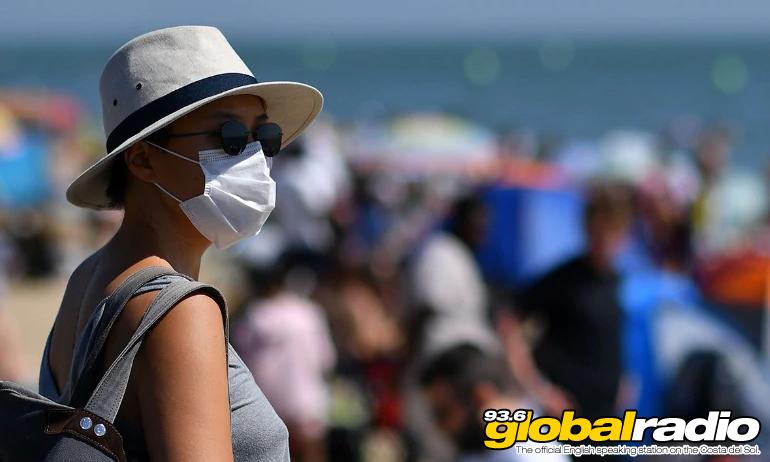 Corona Face Mask Beach