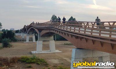 Malaga Wooden Bridge