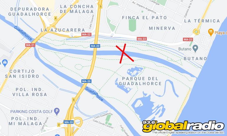 Guadalhorce Bridge Location