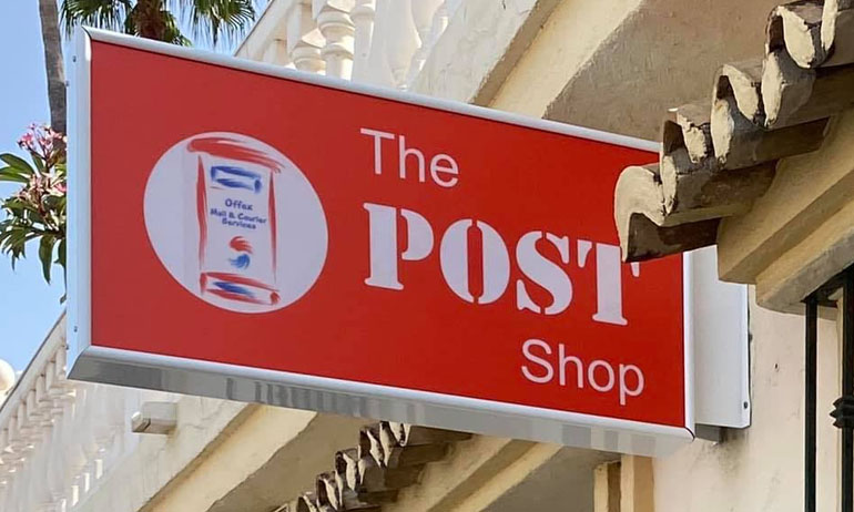 The Post Shop Riviera del Sol, Costa del Sol - Courier and Postal Services