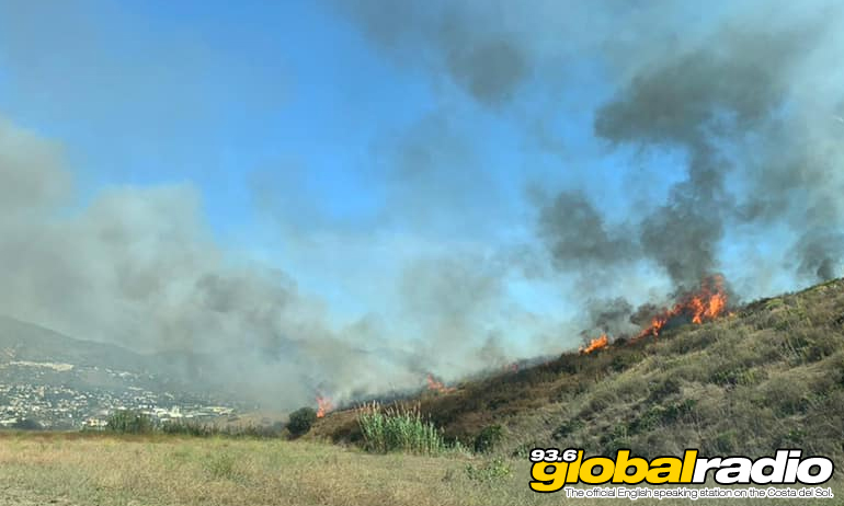 Mijas Wildfire Extinguished