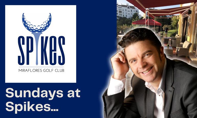 Sundays at Spikes Restaurant, Miraflores Golf Club, with Ricky Lavazza!