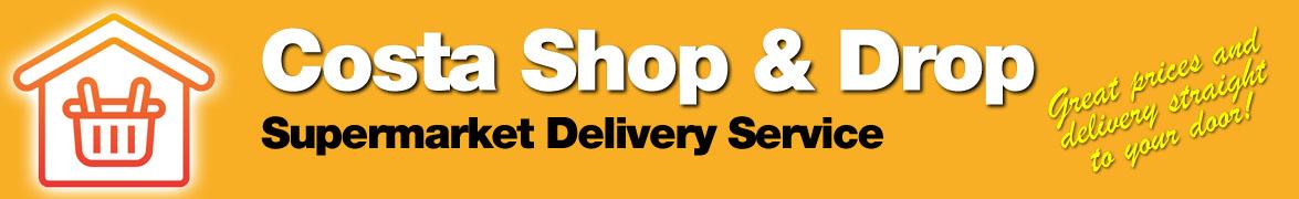 Costa Shop & Drop, Supermarket Delivery Service.