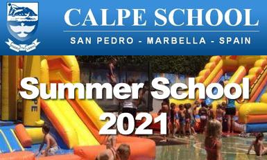 Calpe Summer School 2021