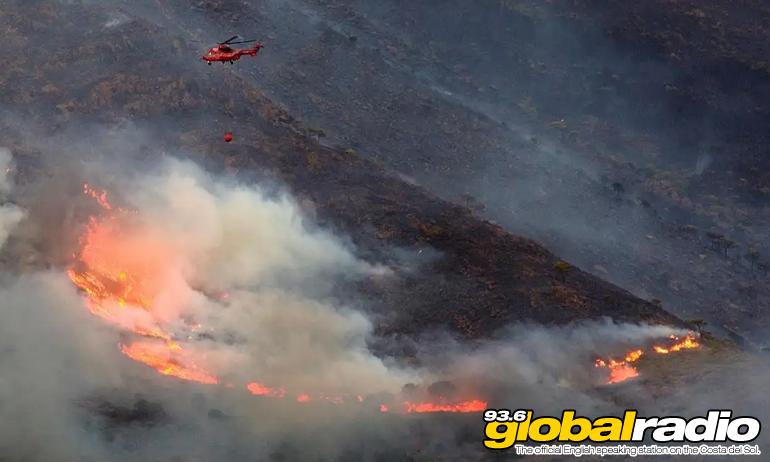 Costa Del Sol Fire Finally Under Control