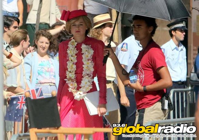 Emma Corrin The Crown Malaga