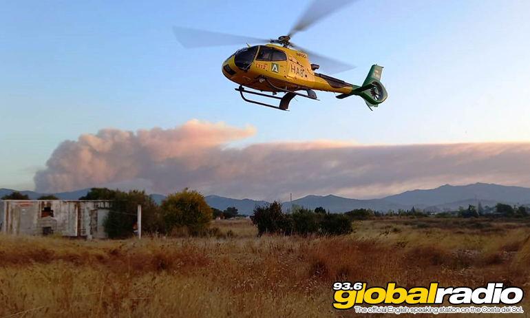 Estepona Fire Helicopter