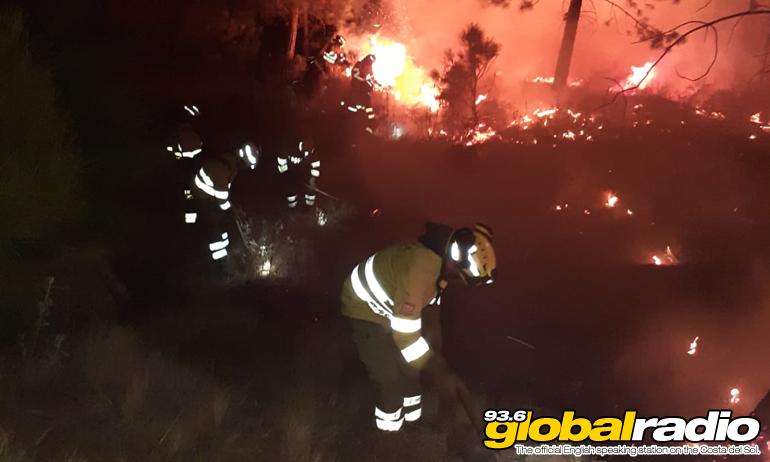 Estepona Fire Workers